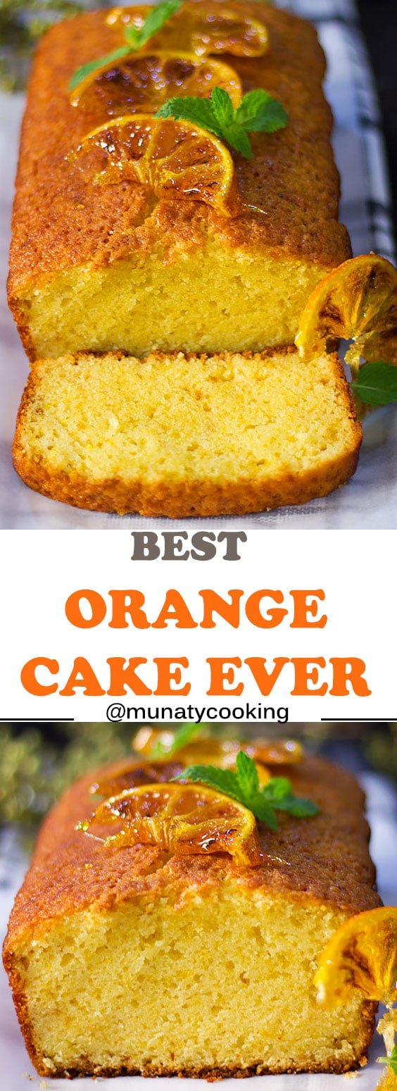 Best Orange Cake Ever, this cake is everything you wanted in an orange cake and more! It's moist, delicious, and comes together quick. A crowd pleaser and an impressive cake.