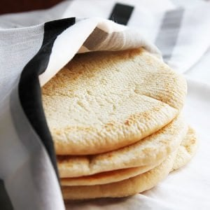 Small image of pita bread.