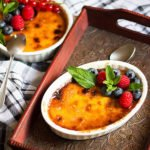Feature image of creme brulee.