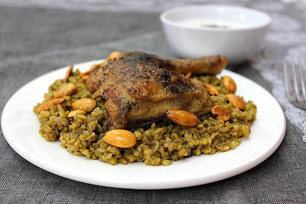 Freekeh with chicken munaty cooking freekeh with chicken forumfinder Images