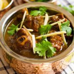 feature image of lamb coconut curry post.