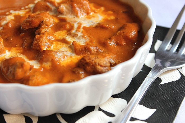 Butter Chicken. One of the most favorited Indian dishes served at weddings and special occasions. Tender chicken pieces smothered in rich, creamy, and silky gravy that's bursting with authentic flavors! www.munatycooking |@munatycooking