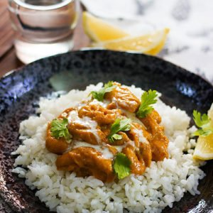 Small image of butter chicken .