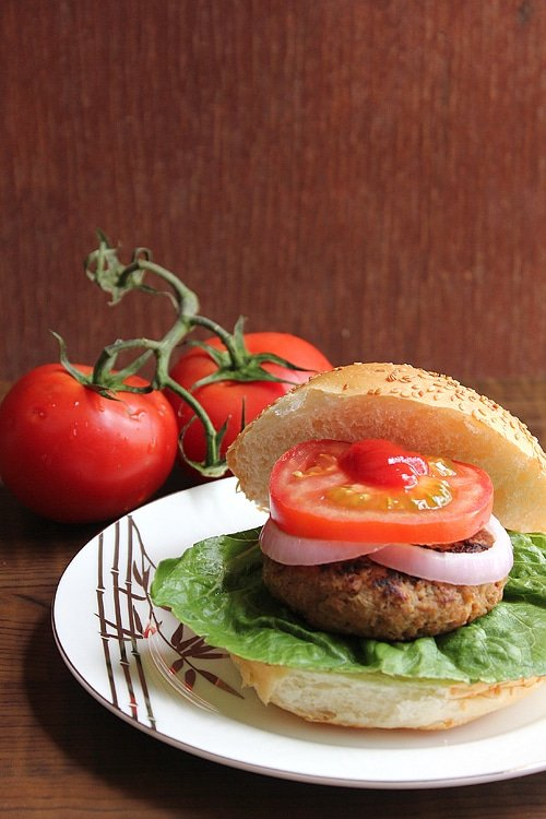 beef burger low calorie 1