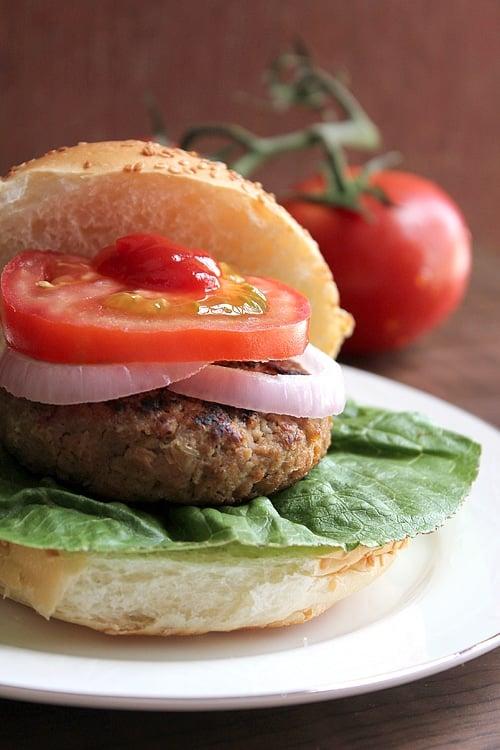 beef burger low calorie 2