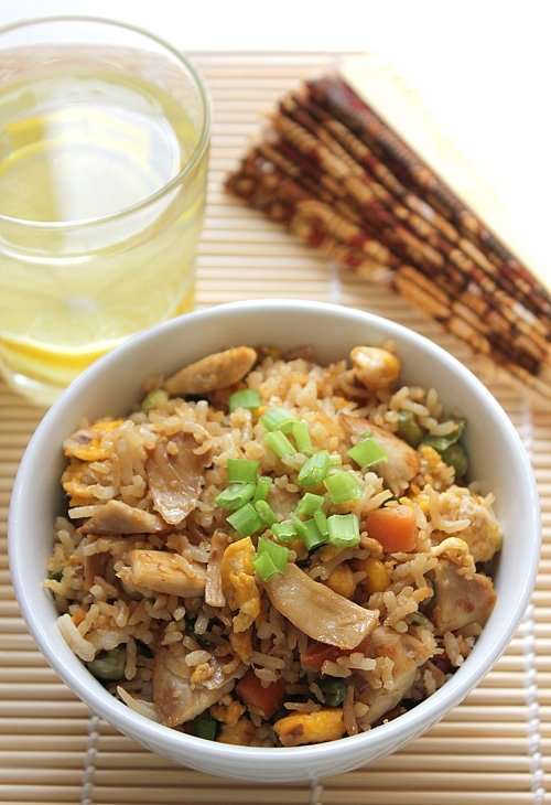 chicken egg fried rice1