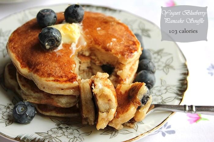 Yogurt Blueberry Pancake Soufflé 1