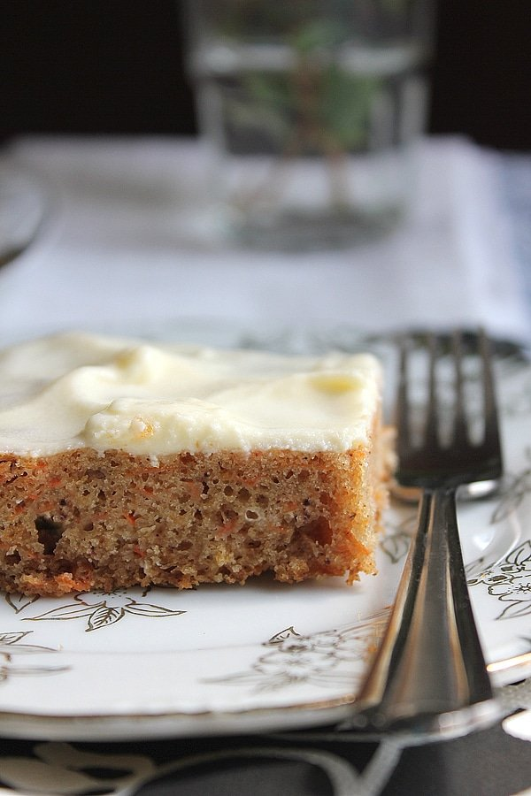 eggless carrot cake 2