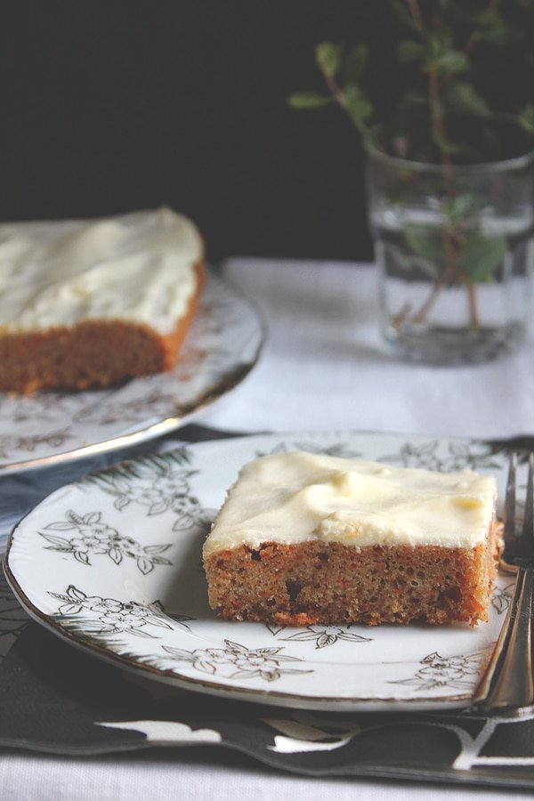 eggless carrot cake 3
