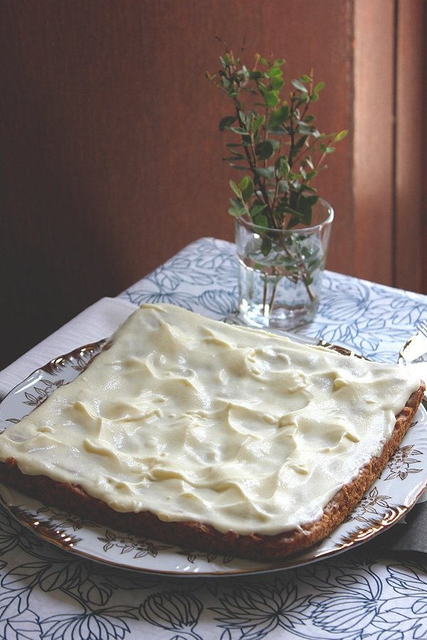 eggless carrot cake 6