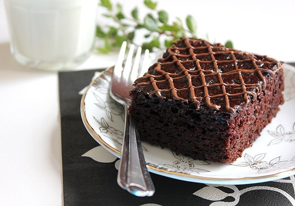 eggless nutella chocolate cake 7