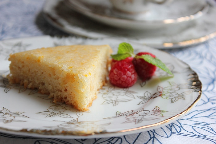 eggless orange cake 3