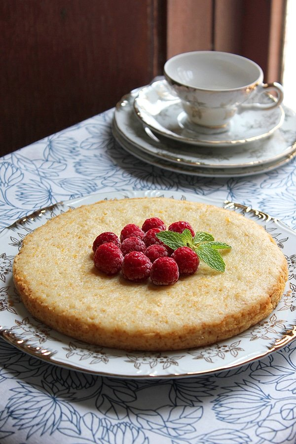 eggless orange cake 7