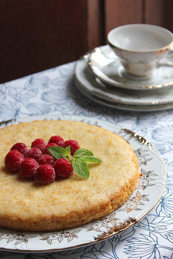 eggless orange cake 8