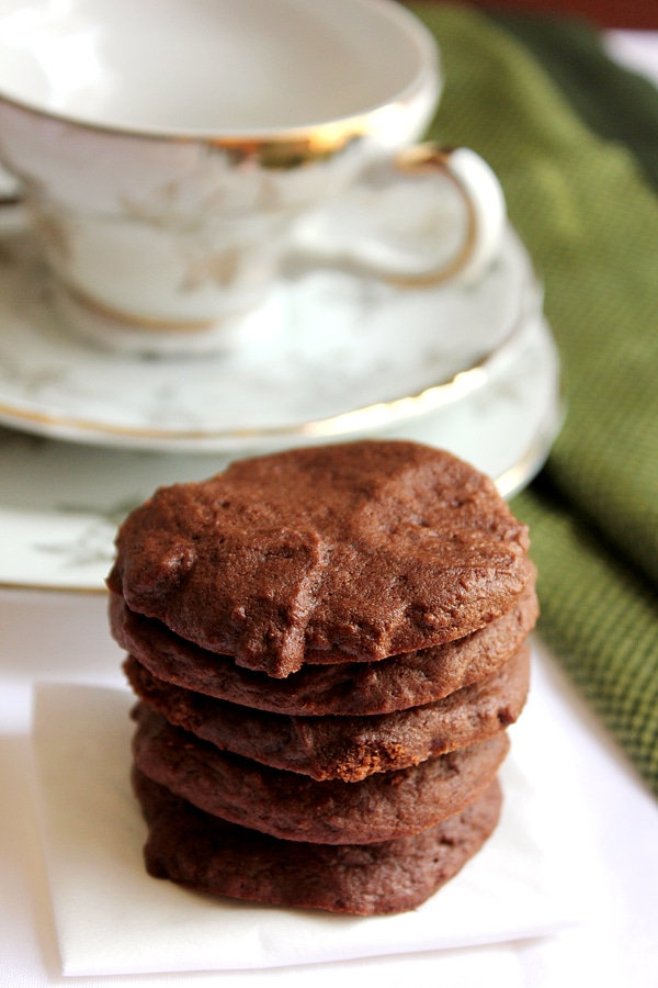 Nutella Chocolate Cookies 5