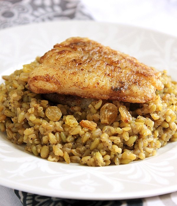 freekeh with fish 2-