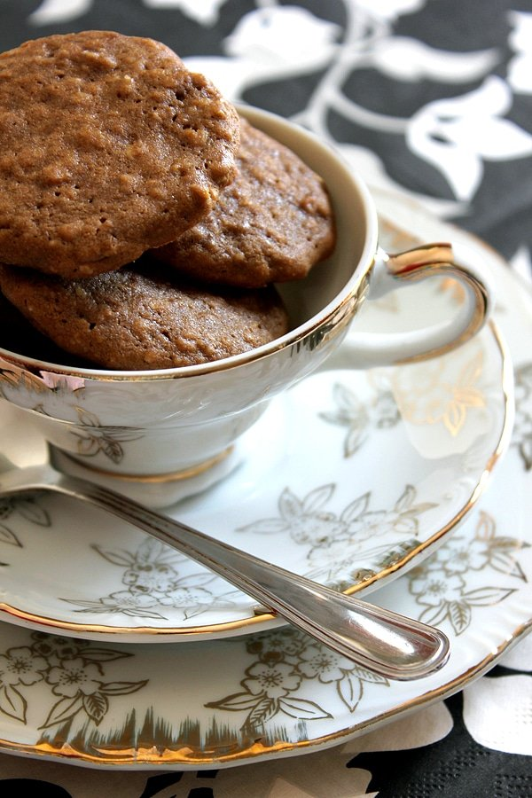 Mocha Oatmeal Cookies 11