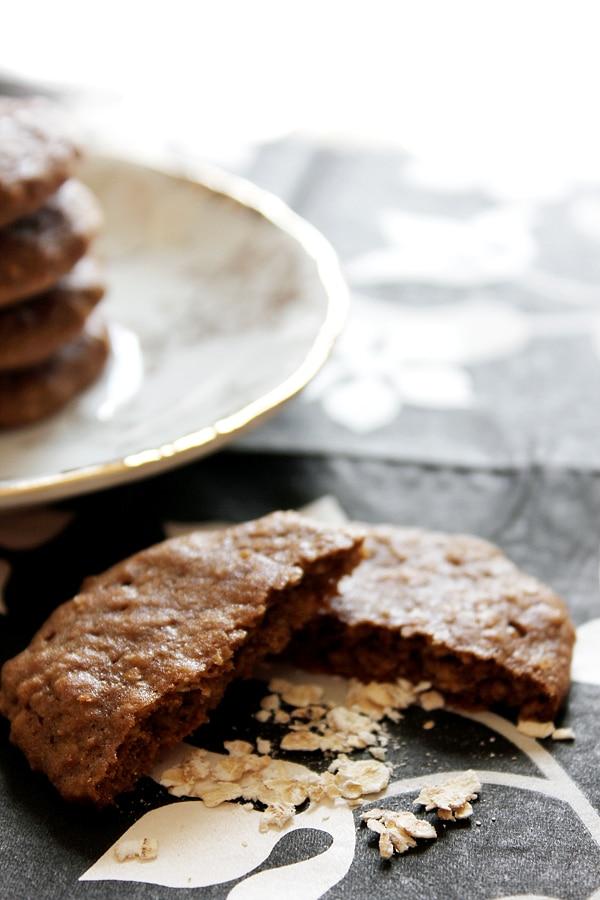Mocha Oatmeal Cookies 2