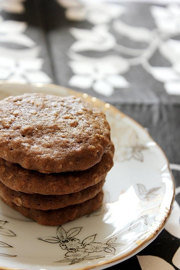 Mocha Oatmeal Cookies 7