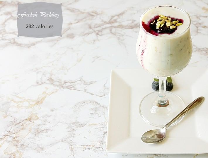 freekeh pudding