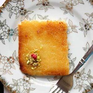 Small image of kunafa with cream