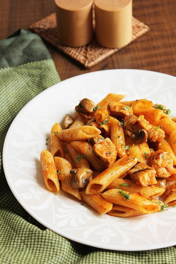 spicy chicken pizza pasta 1