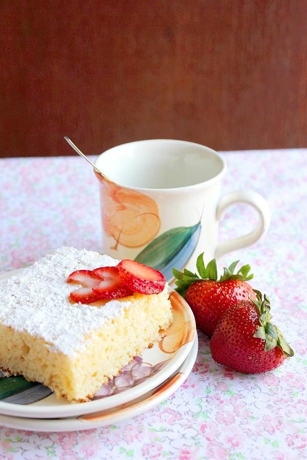 vanilla cake 10