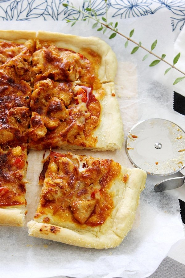 bbq chicken pizza 5