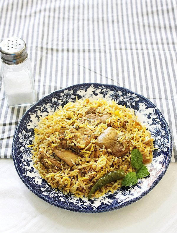 chicken biryani 9