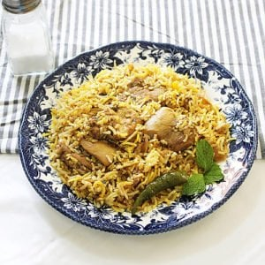 small image of chicken biryani