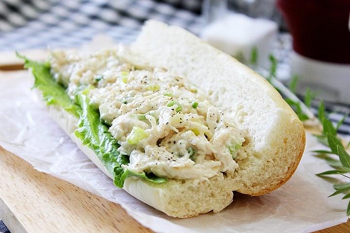 Chicken Salad Sandwich Or Chicken Mayonnaise Munaty Cooking