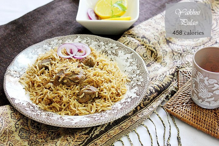 Yakhni Pulao is popular in Pakistan, but the first time I had it was ...