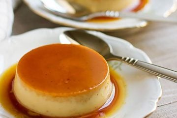 Pumpkin Flan recipe feature image.