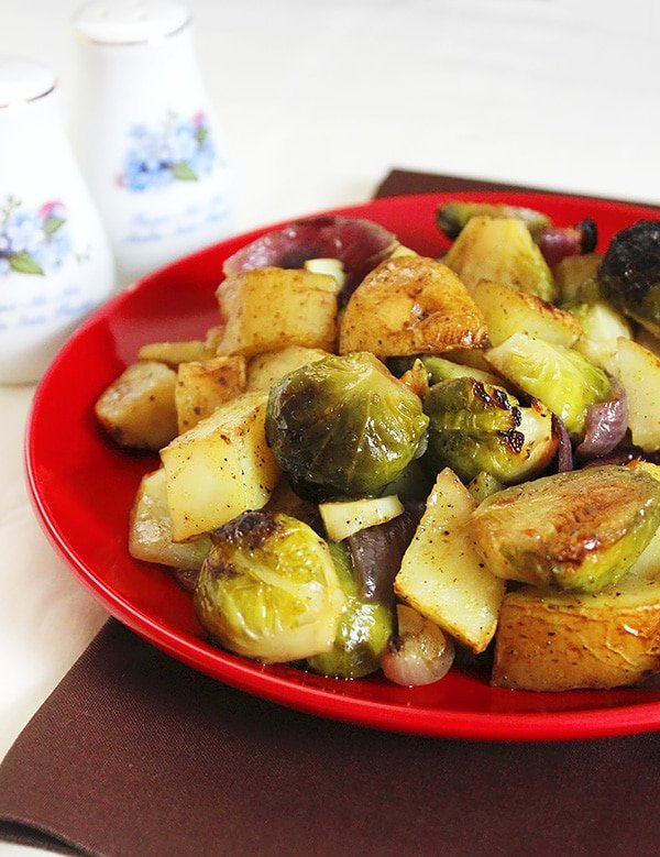 curry flavored brussels sprout 3