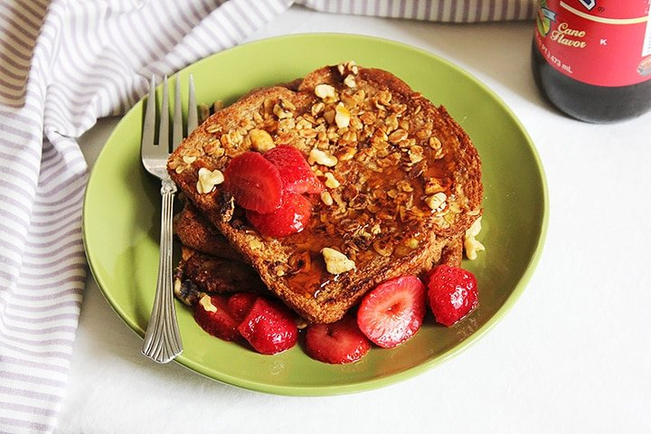 granola french toast 1