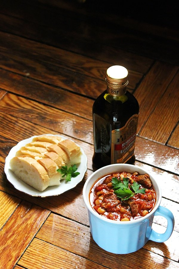 Beef Black Eyed Peas Soup