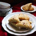 buttermilk coconut almond scones