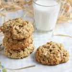 chewy pecan coconut oatmeal cookie 2