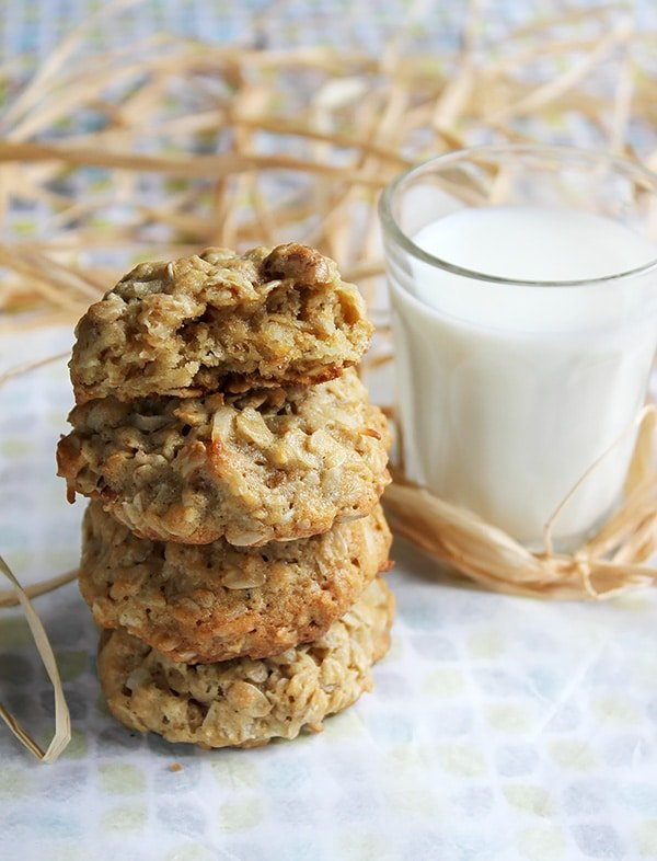 chewy pecan coconut oatmeal cookie 6