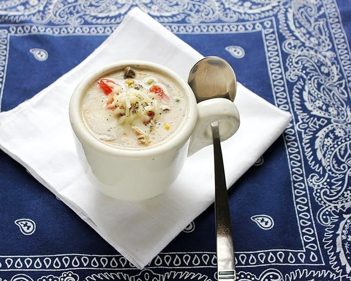 Chicken Mushroom Cream Soup