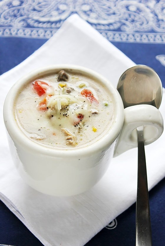 Chicken Mushroom Cream Soup