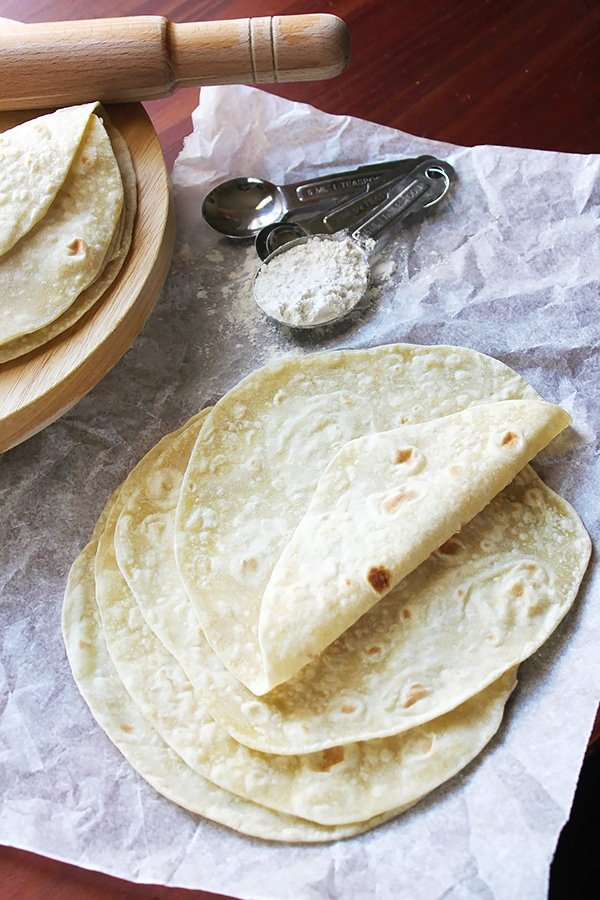 Homemade Flour Tortillas Munaty Cooking