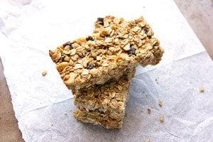 Mixed Nuts Honey Granola Bars