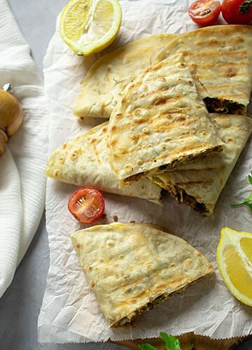Feature image of beef quesadilla 2021.