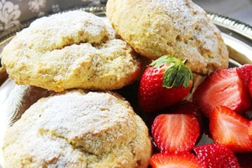 Orange Buttermilk English Scones 3
