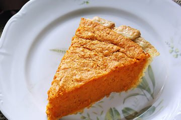Small image of sweet potato pie.