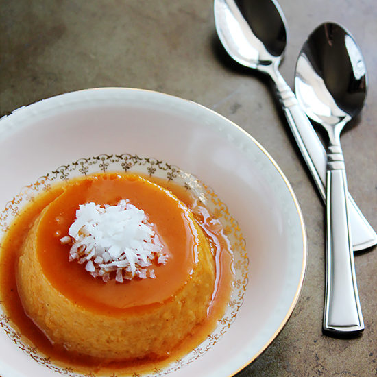 sweet potato cream caramel 6