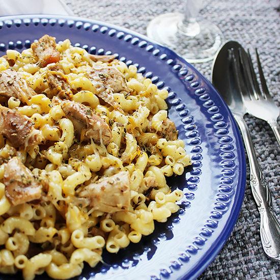 Garlic Chicken pasta 3