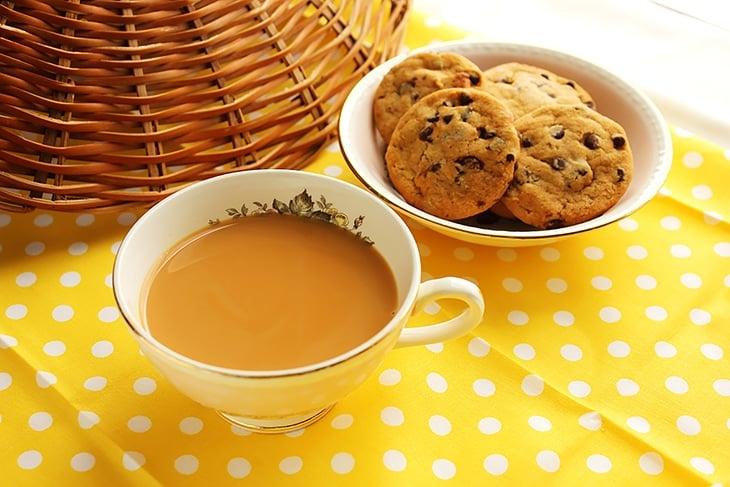 Indian karak chai
