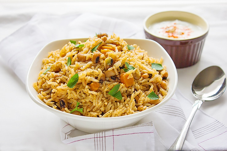 African black eyed peas rice 1
